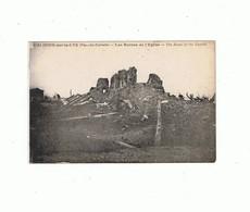 62_CALONNE SUR LA LYS_ Les Ruines De L'église - Altri Comuni