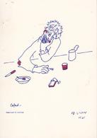 """Paul Emile VICTOR   """" Cafard """" 1985 - Altre Illustrazioni"""