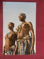 CPSM - Afrique (Abidjan ?) - Jeunes Danseuses - Cartes Postales