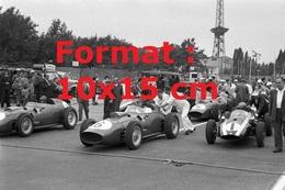 Reproduction D'une Photographie De Ferrari 246 F1 Au Grand Prix D' Allemagneen 1959 - Reproductions