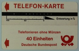 GERMANY - Bamberg - Engineer Test - 40 Units - No Stamp Reverse Notations - F Control - Rare - T-Series : Tests