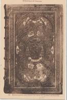 Cpa ( 25 Doubs)  Bibliothéque De Besancon , Reliure Gauffrée Polychrome Au Armes Du Cardinal De Granvelle - Besancon