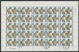N°541 à 542 SERIE DE 2 FEUILLES COMPLETES DE 25 EXEMPLAIRES COTE 50 EUROS DU 50 Fr + 130 Fr JEUX D'ECHECS ANCIENS - Djibouti (1977-...)