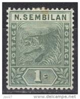 Malaisie Negri Sembilan N° 2 * - Negri Sembilan