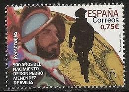 2020-ED. 5382 - 500 Años Nacimiento De D. Pedro Menéndez De Avilés - NUEVO- - 1931-Hoy: 2ª República - ... Juan Carlos I