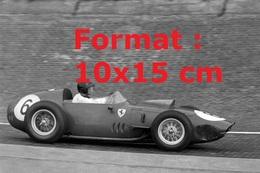 Reproduction D'une Photographie D'une Ferrari 246 F1 Au Grand Prix D' Allemagneen 1959 - Reproductions