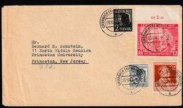 E 192) All. Bes, 1947 Mi# 943,947, 963, 965 OR: Grunbach - Princeton Univ Chemie - Bizone