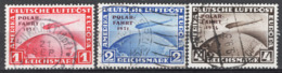 Germania Reich 1931 Polar Fahrt Unif.A40/42 O/Used VF/F - Aéreo