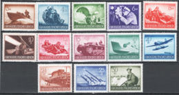 Germania Reich 1944 Unif.790/802 **/MNH VF/F - Unused Stamps