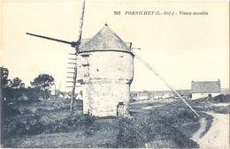 Dépt 44 - PORNICHET - Vieux Moulin (à Vent) - J. Nozais, Édit., N° 262 - Pornichet
