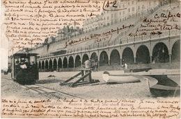 CPA ANGLETERRE BRIGHTON Madeira Road And Sea-shore Railway - Train Bord De Mer Et Route De Madère - Brighton