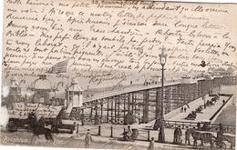 CPA ANGLETERRE BRIGHTON Palace Pier (belle Animation) - Brighton