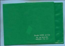 Noyon (60) Porte-photos Vert Du Studio NOEL Et Cie 46 Rue Saint-Eloi 4scans - Matériel & Accessoires
