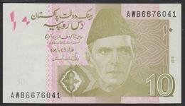 Pakistan 10 Rupees 2019 P45  UNC - Pakistan