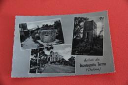 Padova Montegrotto Terme Vedutine Con La Chiesa 1959 Ed. ABA - Padova (Padua)