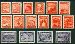 "-Austria-1947-""Scenic Type""  MH (*) - 1945-60 Unused Stamps"