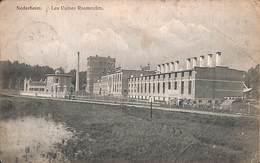 Nederheim - Les Usines Rosmeulen (Edit. Laflotte, Bas-Oha...arme Conditie) - Belgique