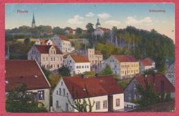 Planitz Zwickau Sachsen Deutschland : Schlossberg /  Stempel Niederplanitz 1914 - Zwickau
