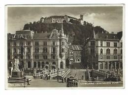 3652 - LUBIANA  Ljubljana STRITATJEVA ULICA ANIMATA 1942 - Slovenia