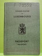 Luxembourg, Passeport 1972 - Documenti Storici