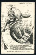 CPA POLITIQUE SATIRIQUE - Illiustrateur Hugues Notus - Le Renard Et Le Bouc - Caricature - Satirische