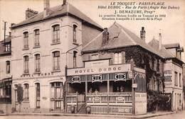 62 - Le Touquet - Hôtel Dubox Café (animée) - Le Touquet