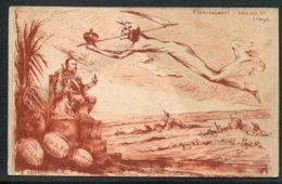 CPA POLITIQUE SATIRIQUE - Illustrateur A. Rouilly - Couronnement D'Edouard VII - Junigoz - Caricature - Irlande Inde Tra - Satirische