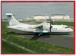 Toulouse Aeroport Airport - Avion Aviation Halcyon Air ATR 42 320 Aircraft - Aerodromes