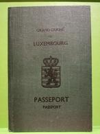 Luxembourg, Passeport 1948 - Documenti Storici