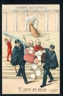 CPA POLITIQUE SATIRIQUE - Illustrateur Sohier - 1er Coup De Balai - Chambre Des Députés - Caricature - Satirische
