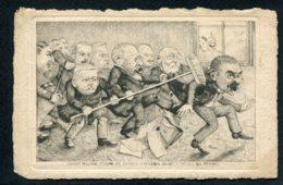 CPA POLITIQUE SATIRIQUE - Illustrateur Marmonier - L'Auréole Politique - Caricature - Satirische