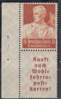 DR  S 223 Postfrisch *, Nothilfe: Berufsstände 1934 - Se-Tenant