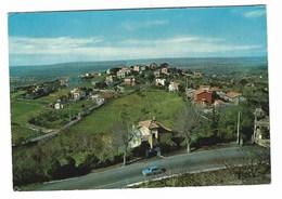 3664 - VILLINI DI CASTELGANDOLFO MONTE CRESCENZIO PANORAMA ROMA 1975 - Italië