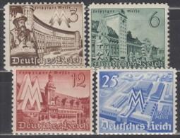 DR 739-742, Postfrisch **, Leipziger Frühjahrsmesse 1940 - Duitsland