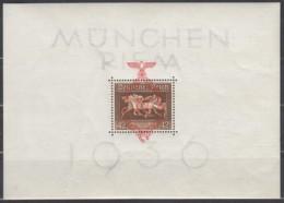 DR Block 10, Postfrisch **, Das Braune Band 1937 - Duitsland