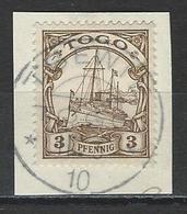 Togo  Mi 7 O Tsewie - Colonie: Togo