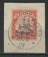 Togo  Mi 12 O Porto-Seguro - Colonie: Togo