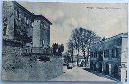 C. P. A. : Piemonte : MANGO : Piazza XX Settembre, 2 Timbres En 1931 - Cuneo