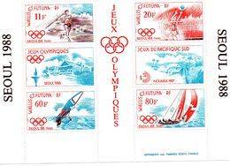 "Wallis & Futuna - Bloc Feuillet "" Jeux Olympique Séoul 1988 ""  Neuf - Blocks & Kleinbögen"