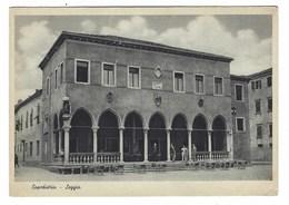 3680 - CAPODISTRIA LOGGIA ANIMATA KOPER KOPAR 1930 CIRCA - Slovenia