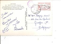 France ( CP De 1954 De Plogoff Vers La Belgique à Voir) - 1945-54 Marianne De Gandon