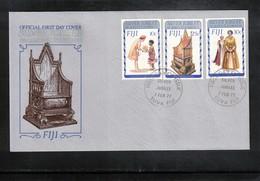 Fiji 1977 Queen Elisabeth II Silver Jubilee FDC - Emissions Communes