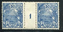 NOUVELLE CALEDONIE - N° 120 MILLÈSIME 1 , CHARNIÈRE CENTRALE - TB - Nouvelle-Calédonie