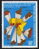 Centrafricaine N° 742 XX 25è Anniversaire De L' O.A.M.CAF. Sans Charnière, TB - Centrafricaine (République)