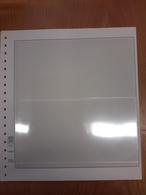 LINDNER T-Blanko 10 Blatt 802212 Mit 2 Streifen 114/116 Mm Gebraucht (Z2052) - Vierges