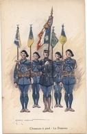 CPA LAJOUX Edmond CHASSEUR A PIED - Otros Ilustradores