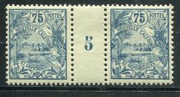 NOUVELLE CALEDONIE - N° 123 MILLÈSIME 5 , SANS CHARNIÈRE - SUP - Nouvelle-Calédonie
