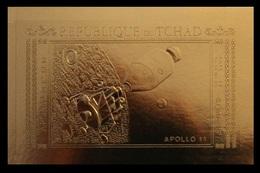 1971Chad387bgoldApollo 11 - 1440,00 € - Space