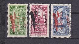 ALAOUITES POSTE AERIENNE 14/16 OBLITERES - Alaouites (1923-1930)