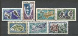MONACO ANNEE 1962 N°581 A  590 NEUFS** MNH - Mónaco